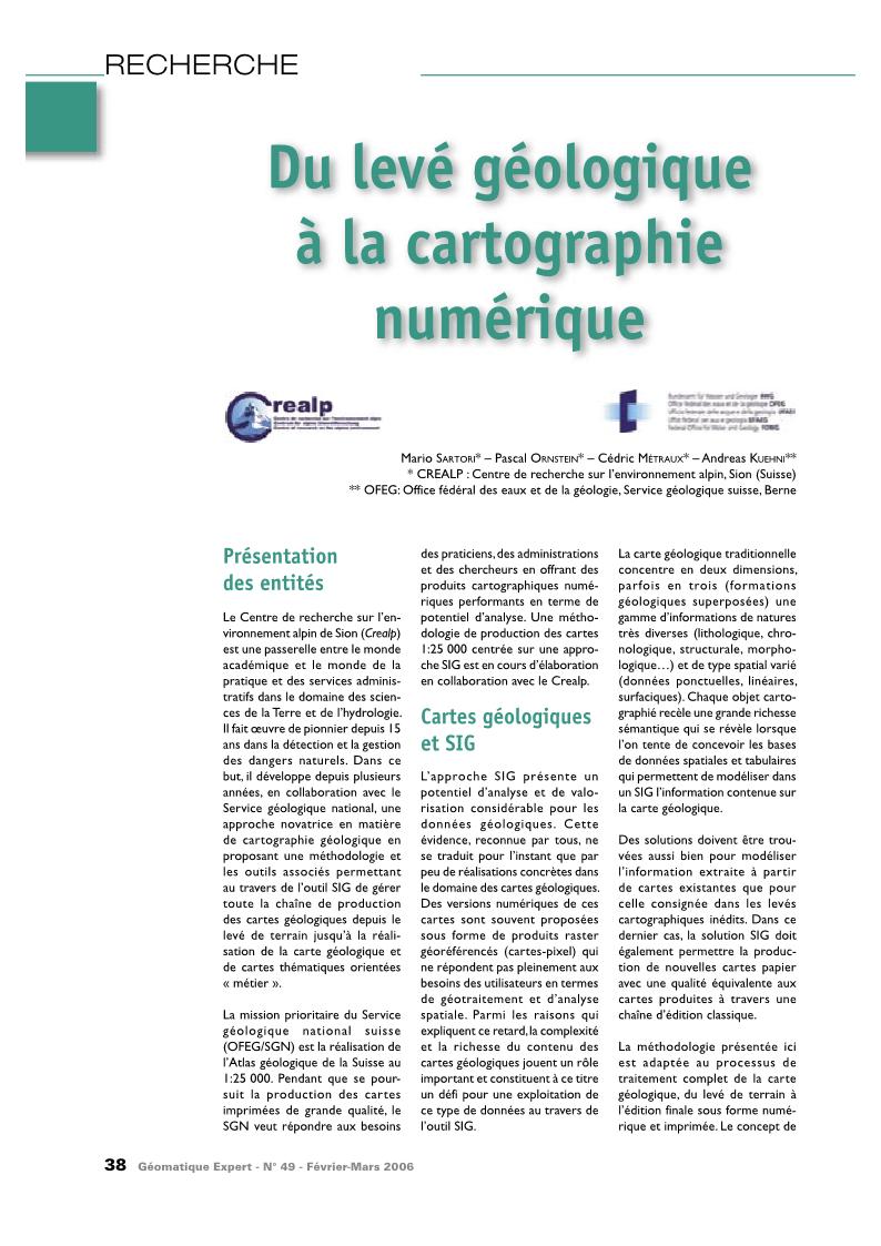 couverture geologique du cameroun