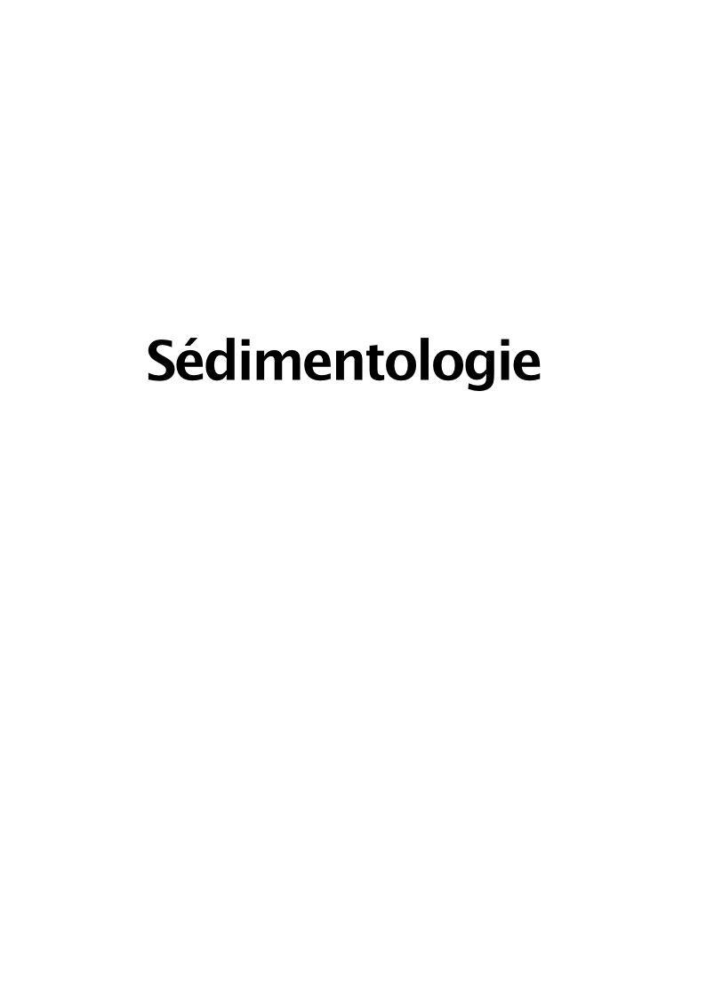 sedimentologie co