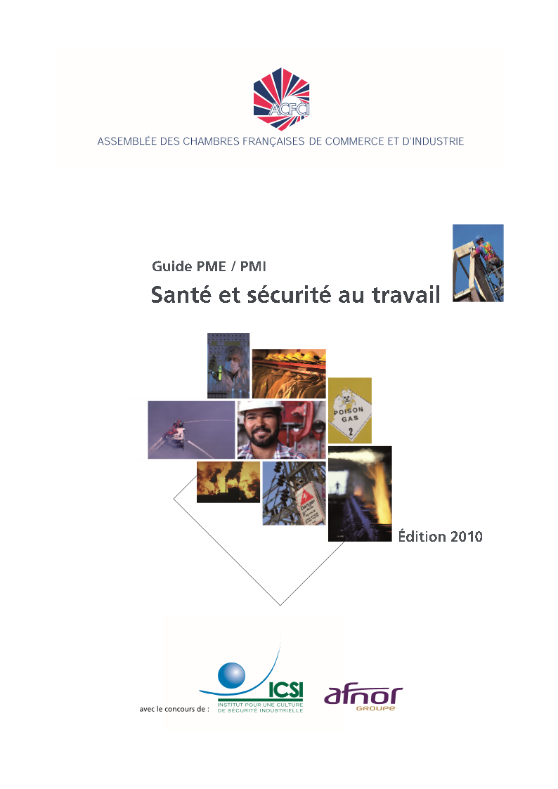 Guide Sante Securite au Travail