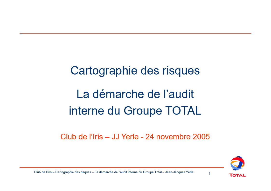 lr demiramon total management des risques chez total 0511