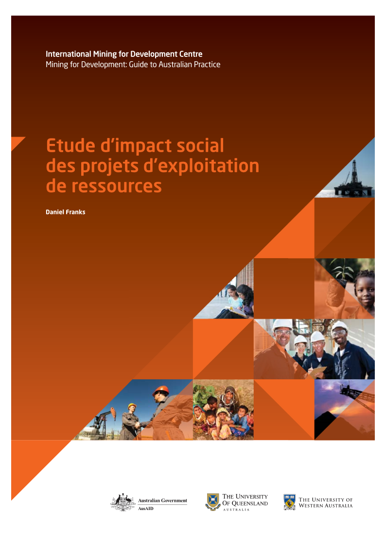 Social impact assessment of resource projects French version