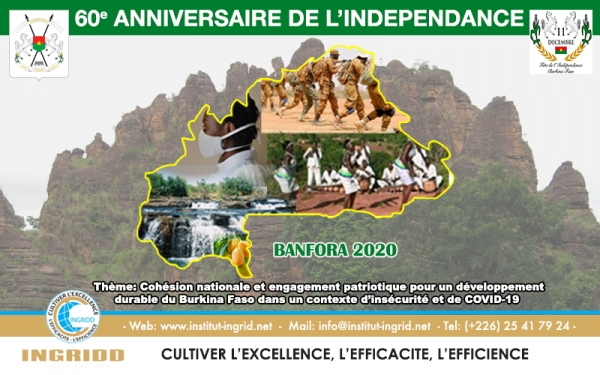 COMMEMORATION DU 60 EME ANNIVERSAIRE DE L'INDEPENDANCE DU BURKINA