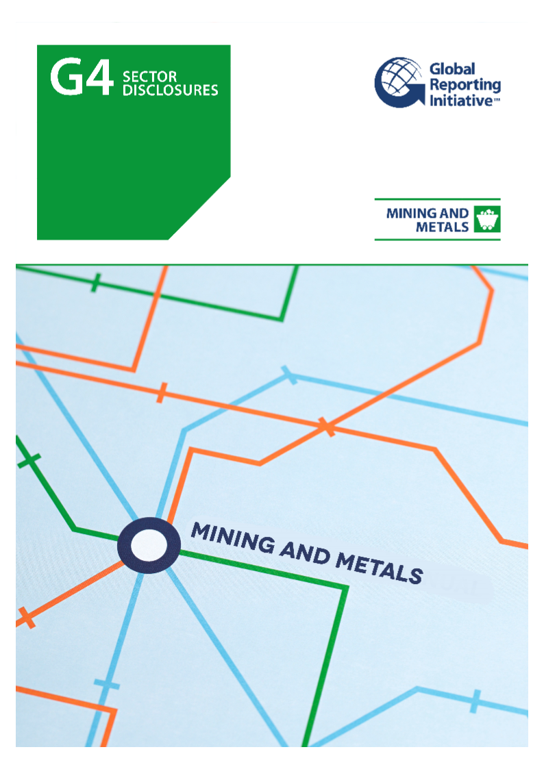 GRI G4 Mining and Metals Sector Disclosures
